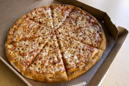 Large Dominos Pizza