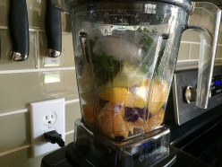 Sweet and Savory Cleansing Vitamix Smoothie Recipe