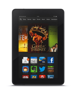 Don't travel without your Kindle