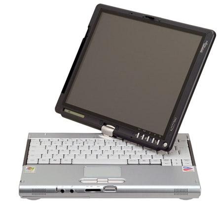 A tablet PC circa 2004.