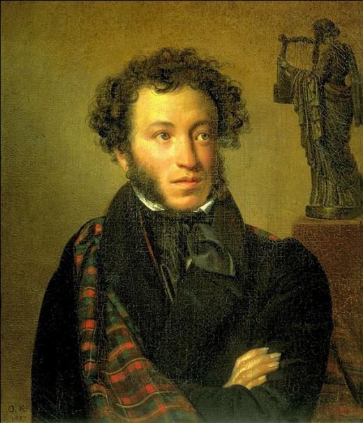 Alexander Pushkin his great grandson