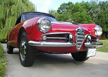 Classic 1959 Alfa Romeo Spider