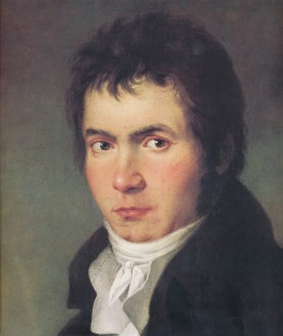 Beethoven in 1804. Image: Wikipedia