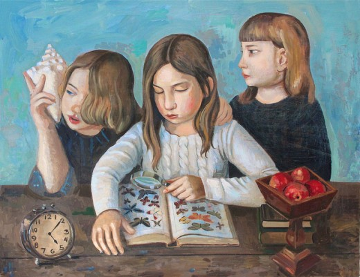 Girls With Butterfly Book