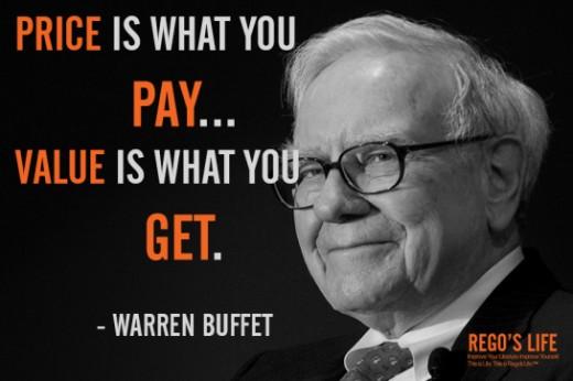 Billionaire Warren Buffet