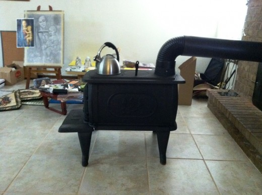 Brand new stove.