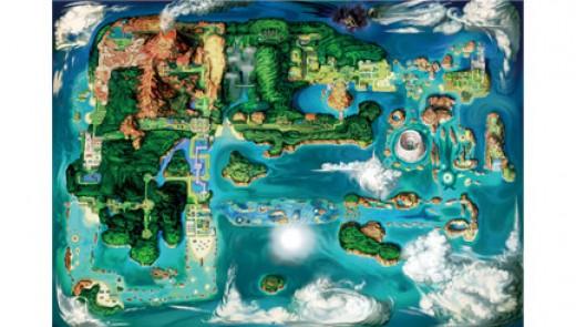 Hoenn Region (Pokemon Omega Ruby and Alpha Sapphire)