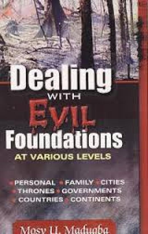 I speak destruction to evil foundations.