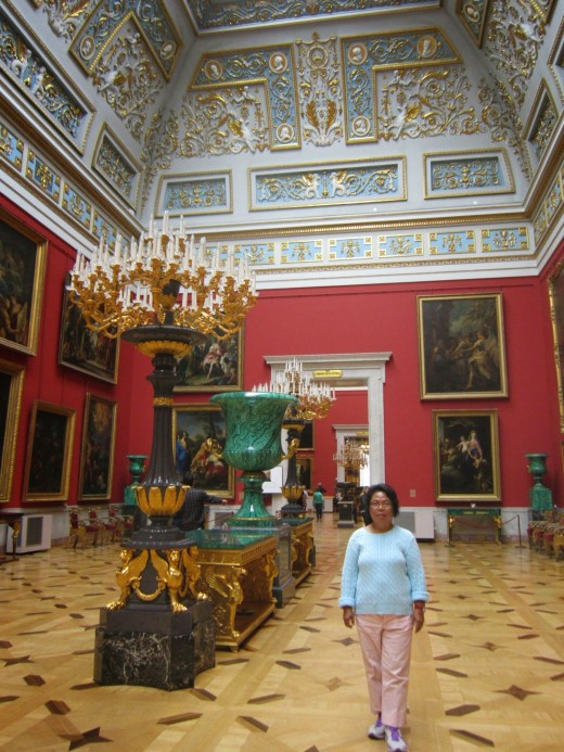 The English Gallery-The Hermitage Museum, St Petersburg,Russia.