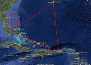 The Bermuda Triangle has long been a place where aircrafts and boats disappear.