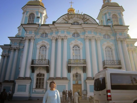 St Nicholas Naval Cathedral-St Petersburg,Russia.