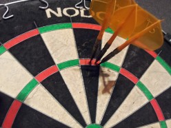 Darts Review: Red Dragon 23 g Black Dragonfly