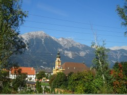 Innsbruck, Austria - Nice Welcome to the Alps in Summer