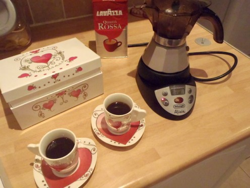Here are my lovely espresso cups