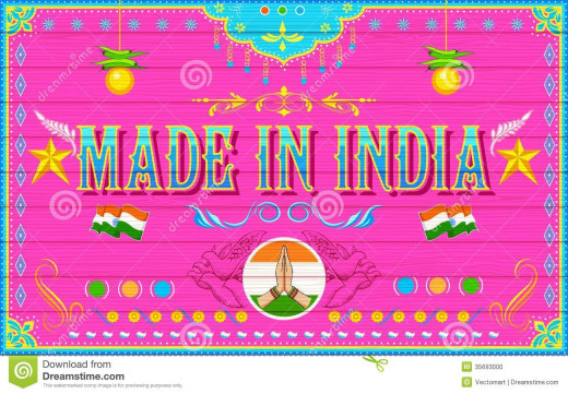 Made in India poster