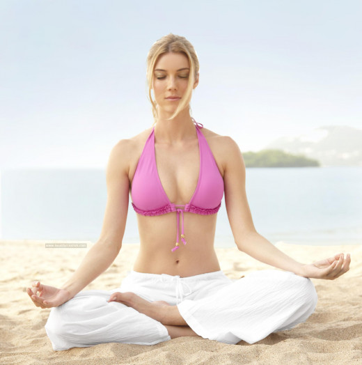 Meditation is an important part on the law of attraction