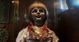 The movie's design of the possessed doll, Annabelle