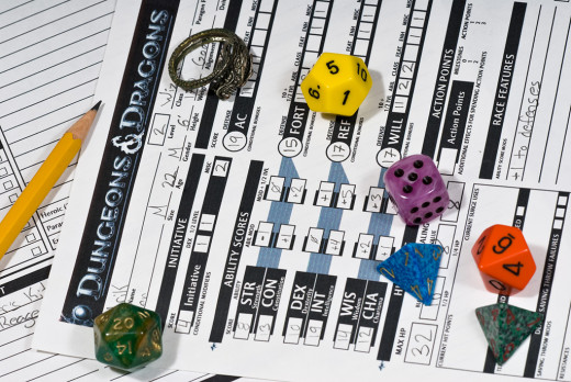 DnD Character Sheets