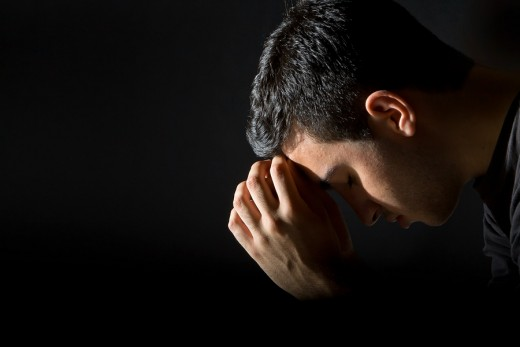 Don't let your body dictate your prayer. Rather, CHOOSE to pray and use your body to ratify your choice
