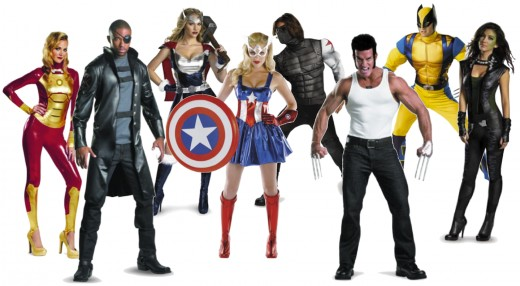 Official Marvel Costumes to Mix or Match