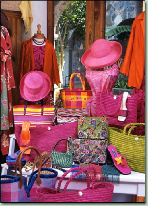 Distinctive quality clothing and accessories.