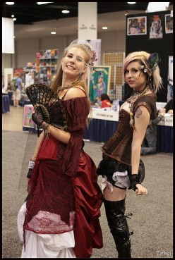 Steampunk Style Corsets