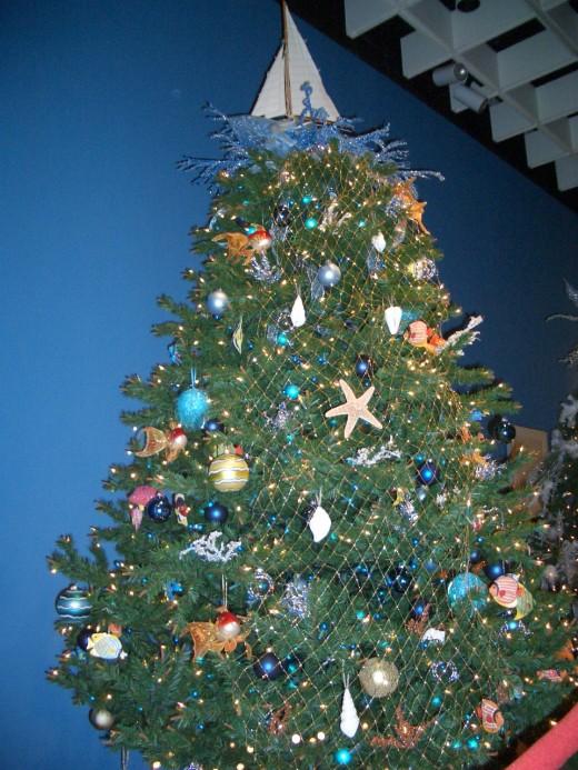 Christmas at the Beach Themed Tree