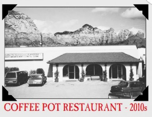 Photo of the Coffee Pot in 2010 Source: c/o The Coffee Pot Menu
