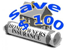 How to Lower Home Insurance Premium by $100 ?