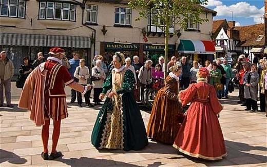 Shakespeare's birth parade