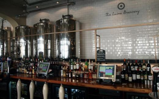 The booze bar