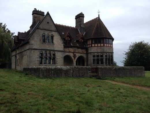 A favoured hang out of the undead? Gothic houses abound in Britain of which have unsettling reputations!