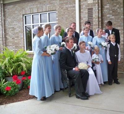 Amish Bridal Party