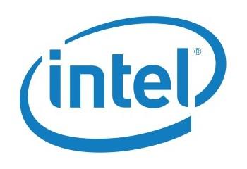 Intel logo.