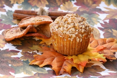 Pumpkin Crumble Muffins! Delicious!