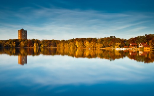 Jamaica Pond: Boston, MA