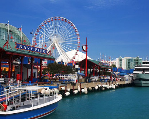 Navy Pier: Chicago, IL