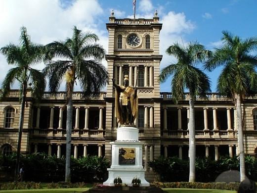 Iolani Palace: Honolulu, HI