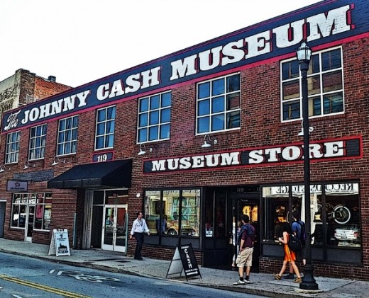 Johnny Cash Museum: Nashville, TN