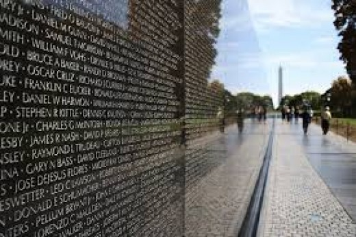Vietnam Memorial: Washington D.C.