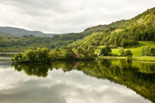 Rydal Water, where Wordsworth lived in later life