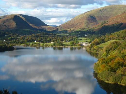 Grasmere Lake and Village