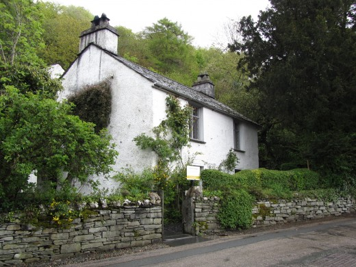 Wordsworth's home,Dove Cottage, Grasmere