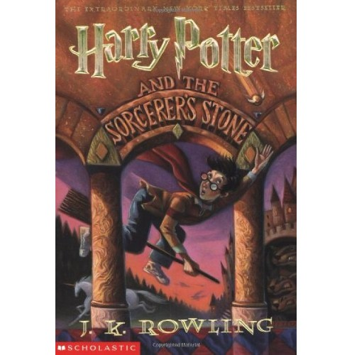 Harry Potter and the Sorcerer's Stone or Philosopher's Stone by J.K. Rowling