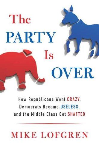 The Party is Over book cover as it appears on Amazon.com