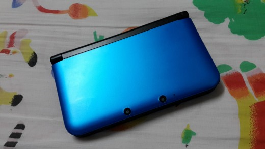 A shiny 3DS without a single blemish.