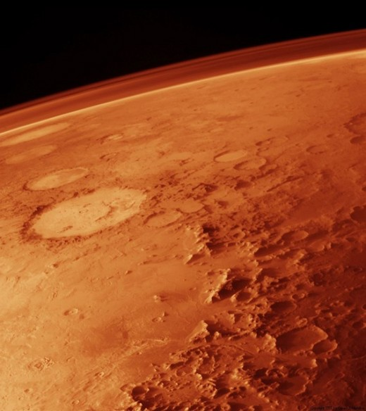 Fun Facts about Mars: The planet is famous for its reddish appearance. The rusty color is not a coincidence.  It is caused by the same process that causes iron to rust on Earth.