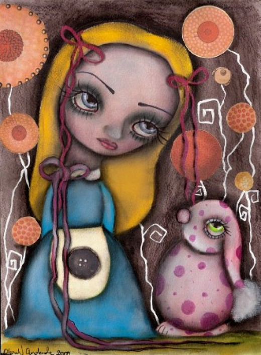 """""""Hello, Mr. Bunny Rabbit"""" by Abril Andrade Griffith"""
