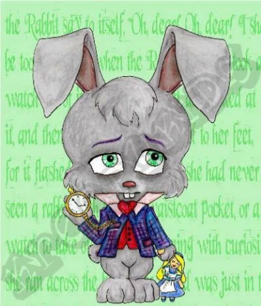 """""""White Rabbit"""" by Marti Matthews and Patty MacDonald"""