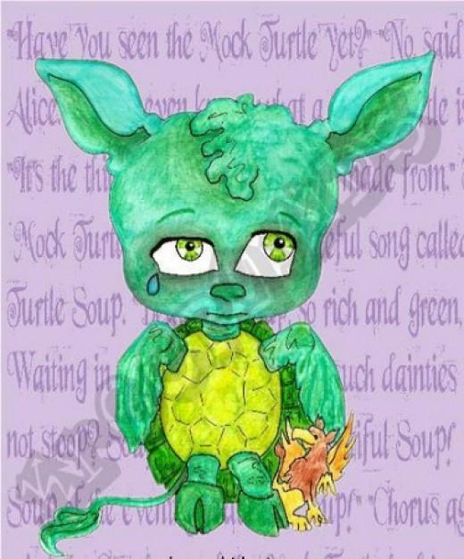 """""""Mock Turtle"""" by Marti Matthews and Patty MacDonald"""